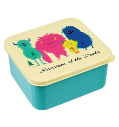 lunch box - monsters of the world