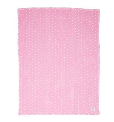 farg form - copertina - pois rosa/bianco