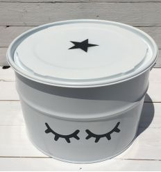 toy box sweet eyes - white