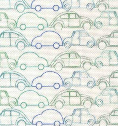 camengo - tessuto d'arredo con macchine rallye
