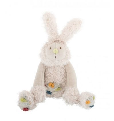 moulin roty - little tap tap the rabbit soft toy les zazous