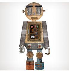 tresxics - sticker da muro in tessuto (robot guim)