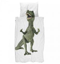 snurk - set copripiumino dinosauro