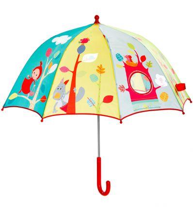 lilliputiens - ombrello cappuccetto rosso