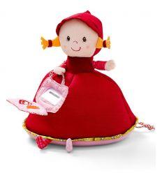 lilliputiens - salvadanaio musicale cappuccetto rosso