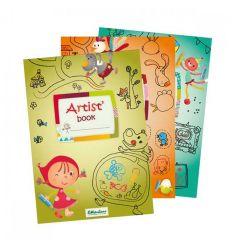 lilliputiens - album da colorare artist' book