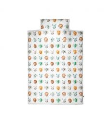 studio ditte - duvet cover wild animals (cool)