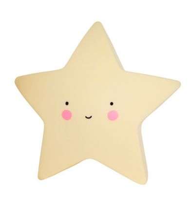 a little lovely company - mini star light (yellow)