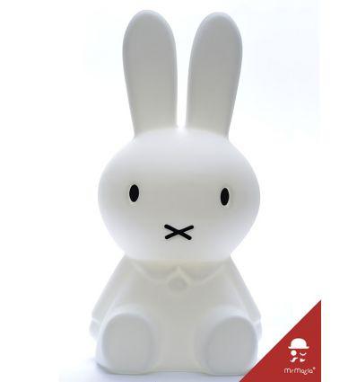 mr maria - lampada led coniglio miffy xl