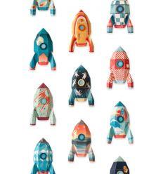 """studio ditte - pannello carta da parati """"rocket"""""""