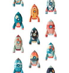 "studio ditte - wall print wallpaper ""rocket"""