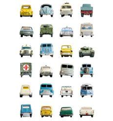 """studio ditte - pannello carta da parati """"cars"""""""