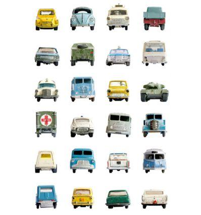studio ditte - carta da parati cars