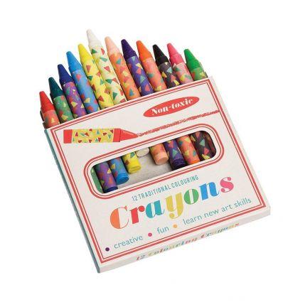 wax colouring crayons
