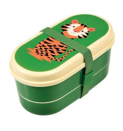 portapranzo con posate (tigre)