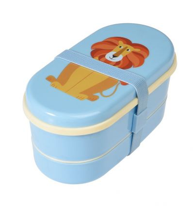 lunch box with cutlery (the lion)