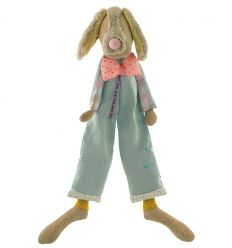 moulin roty - jean-jean dog soft toy les tartempois