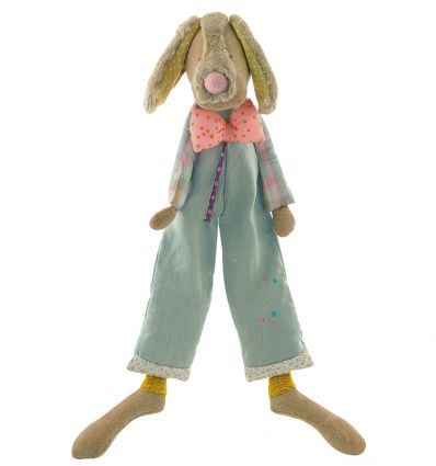 moulin roty - soft toy jean-jean dog - les tartempois