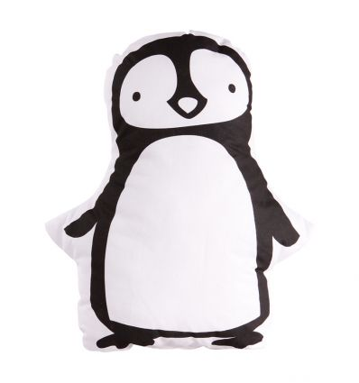 little lovely company - penguin cushion