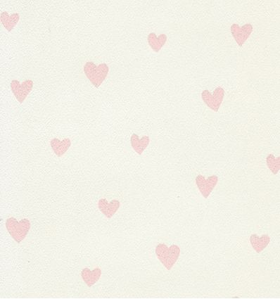 inke - carta da parati cuori (rosa)