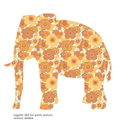 inke - wallpaper decal large elephant