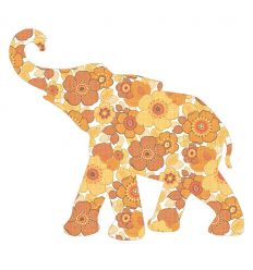 inke - wallpaper decal baby elephant