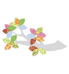 inke - wallpaper decal branch and leaves