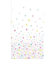 casadeco - fabric hearts (pink/light blue)