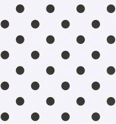 eijffinger - carta da parati pois (bianco/nero)