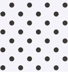 eijffinger - wallpaper dots (white/black)