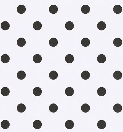 eijffinger - wallpaper polka dots (white/black)