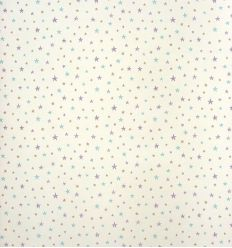 "casadeco - wallpaper little stars ""all over"" (violet/light blue/grey)"