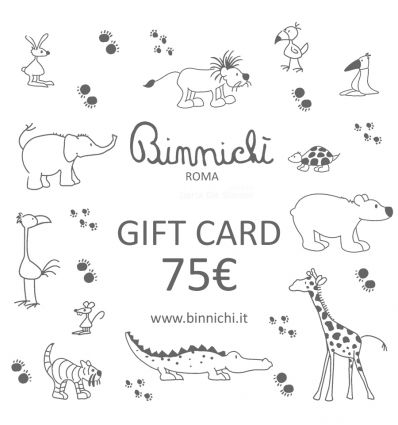 binnichi' gift card 75€