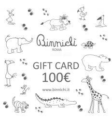 binnichi' gift card 100€