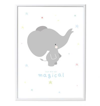 a little lovely company - poster elefante