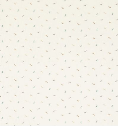 scion - curtains fabric embroidered bows toodle pip (bourbon/rubble/parchment)