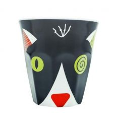 déglingos - bicchiere gatto charlos