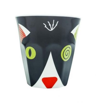 déglingos - mug the black cat charlos