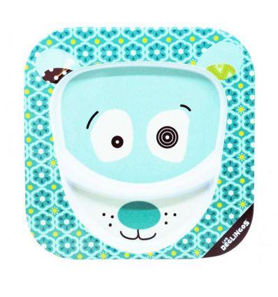 déglingos - plate the polar bear illicos