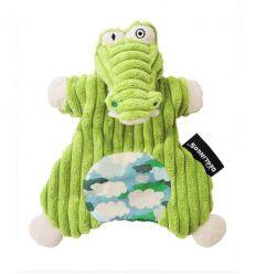 déglingos - doudou marionetta coccodrillo aligatos