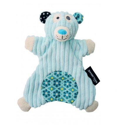 déglingos - doudou marionetta orso polare illicos
