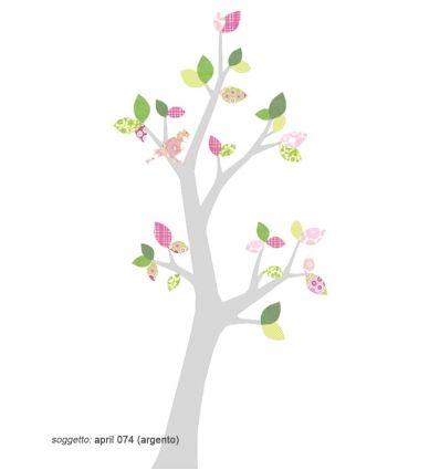 inke - carta da parati sagomata albero boom3