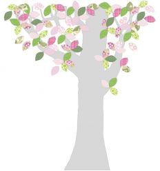 inke - carta da parati sagomata albero boom1