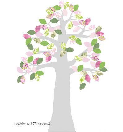 inke - carta da parati sagomata albero boom2