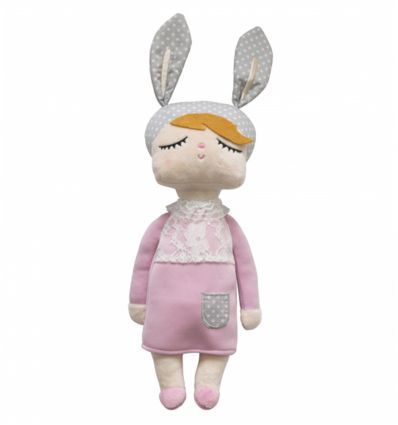 miniroom - bambola little bunny (rosa)