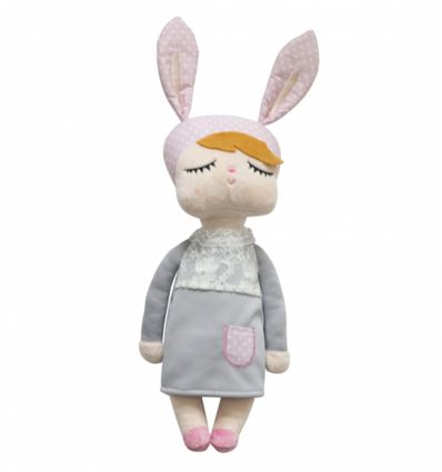 miniroom - bambola little bunny (grigio)