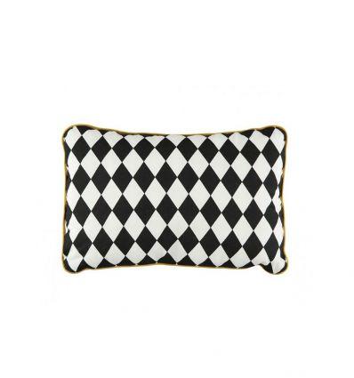 nobodinoz - cushion jack (black diamonds)