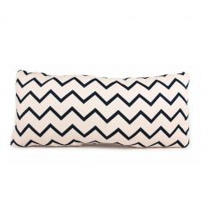 nobodinoz - cushion averell (zigzag black)
