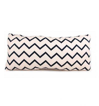 nobodinoz - cushion averell (zigzag black)