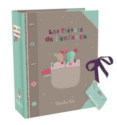moulin roty - scatola primi ricordi les jolis pas beaux